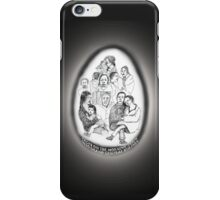 NYC-Faces on the morning train into Grand Central * iPhone Case/Skin