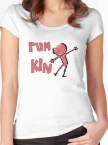 PUM KIN Women's Fitted Scoop T-Shirt