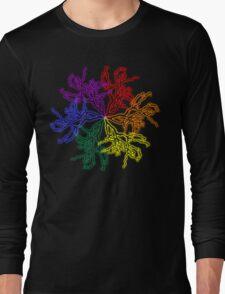 Nature Colour Wheel Long Sleeve T-Shirt