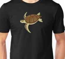 Happy Green Sea Turtle Unisex T-Shirt