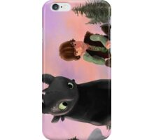 Toothless and Hiccup iPhone Case/Skin