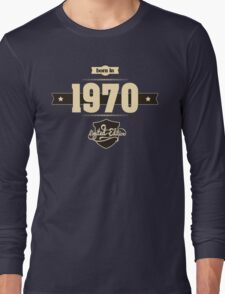 Born in 1970 (Cream&Choco) Long Sleeve T-Shirt