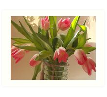 Clearly Pink Art Print