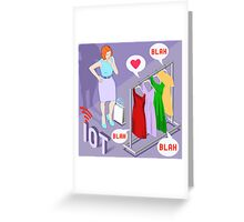 Wearable Fashion Iot Brand Greeting Card