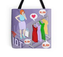 Wearable Fashion Iot Brand Tote Bag