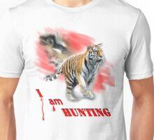 Tiger Hunting Unisex T-Shirt