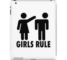 GIRLS RULE iPad Case/Skin