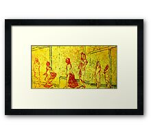 Childs Play after Christo Framed Print