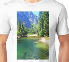 Yosemite National Park landscape photography Unisex T-Shirt
