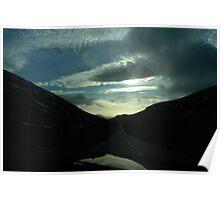 driving thru Silent Valley Poster