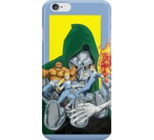 The Fantastic Four in the hands of Doom! iPhone Case/Skin