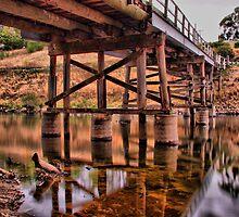 Murray River at Towong by John Vandeven