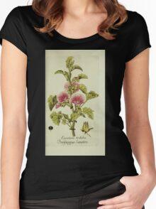 Plantarum Indigenarum et Exoticarum - Lukas Hochenleitter und Kompagnie 1788 - 156 Women's Fitted Scoop T-Shirt