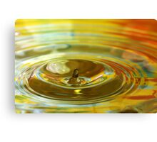 Droplet #11 Canvas Print