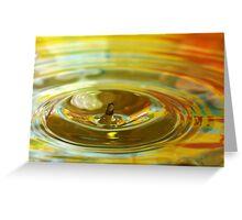Droplet #11 Greeting Card