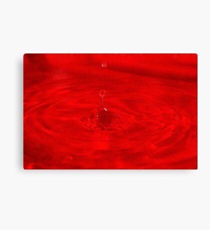 Droplet #24 Canvas Print