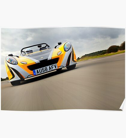 Low in the Lotus 2 Eleven .... Poster