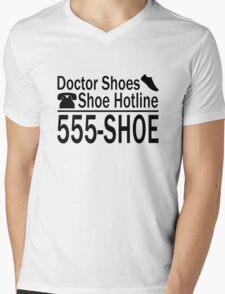 555-SHOE Mens V-Neck T-Shirt