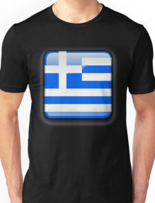 Greece Flag Icon Unisex T-Shirt