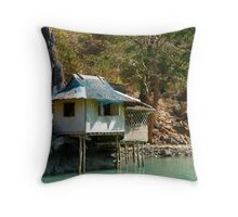 my HOME KUBO / PALAWAN Throw Pillow