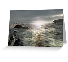 Sea light Greeting Card