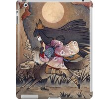 Running With Monsters - Kitsune Fox Yokai  iPad Case/Skin