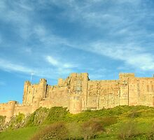 Bamburgh Castle, Northumberland by Jamie  Green