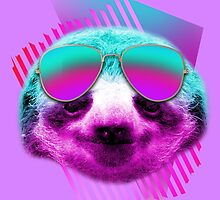 80's sloth by GeekMerch