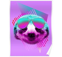 80's sloth Poster