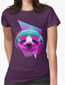 80's sloth Womens Fitted T-Shirt