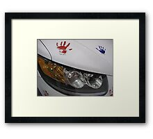 Hope on Wheels Framed Print