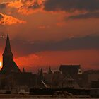 Nuernberg Sunset  by newfan