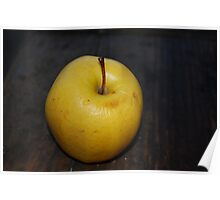 Yellow Apple Poster