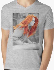 Karen With Hair Like Fire Mens V-Neck T-Shirt