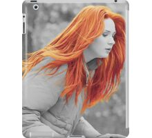 Karen With Hair Like Fire iPad Case/Skin