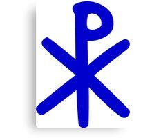 Chi Ro Symbol Canvas Print