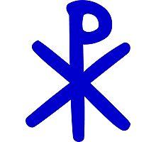 Chi Ro Symbol Photographic Print