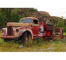Mining equipment II Photographic Print