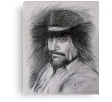 Waylon Jennings  Canvas Print
