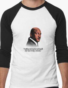 Michael Jordan Vector and Quote Men's Baseball ¾ T-Shirt