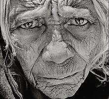 Old Lady.Kathmandu,Nepal 2005 by Neil Bussey