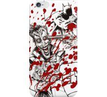 Clic, the Joker the funny bullet iPhone Case/Skin