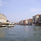 Venice waterway by Steve plowman