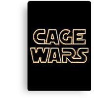 Cage Wars Canvas Print