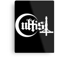 Cultist Plain White Metal Print
