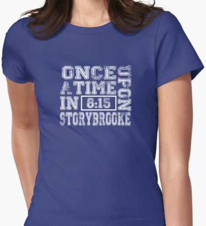 Once Upon a Time in Storybrooke Womens Fitted T-Shirt