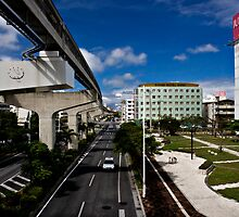 Okinawa Japan City View by Dale Frazier