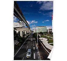 Okinawa Japan City View Poster
