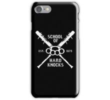 Irish Fight Club - School of Hard Knocks iPhone Case/Skin