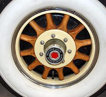 The art of the car: '31 Packard Wheel by John Schneider